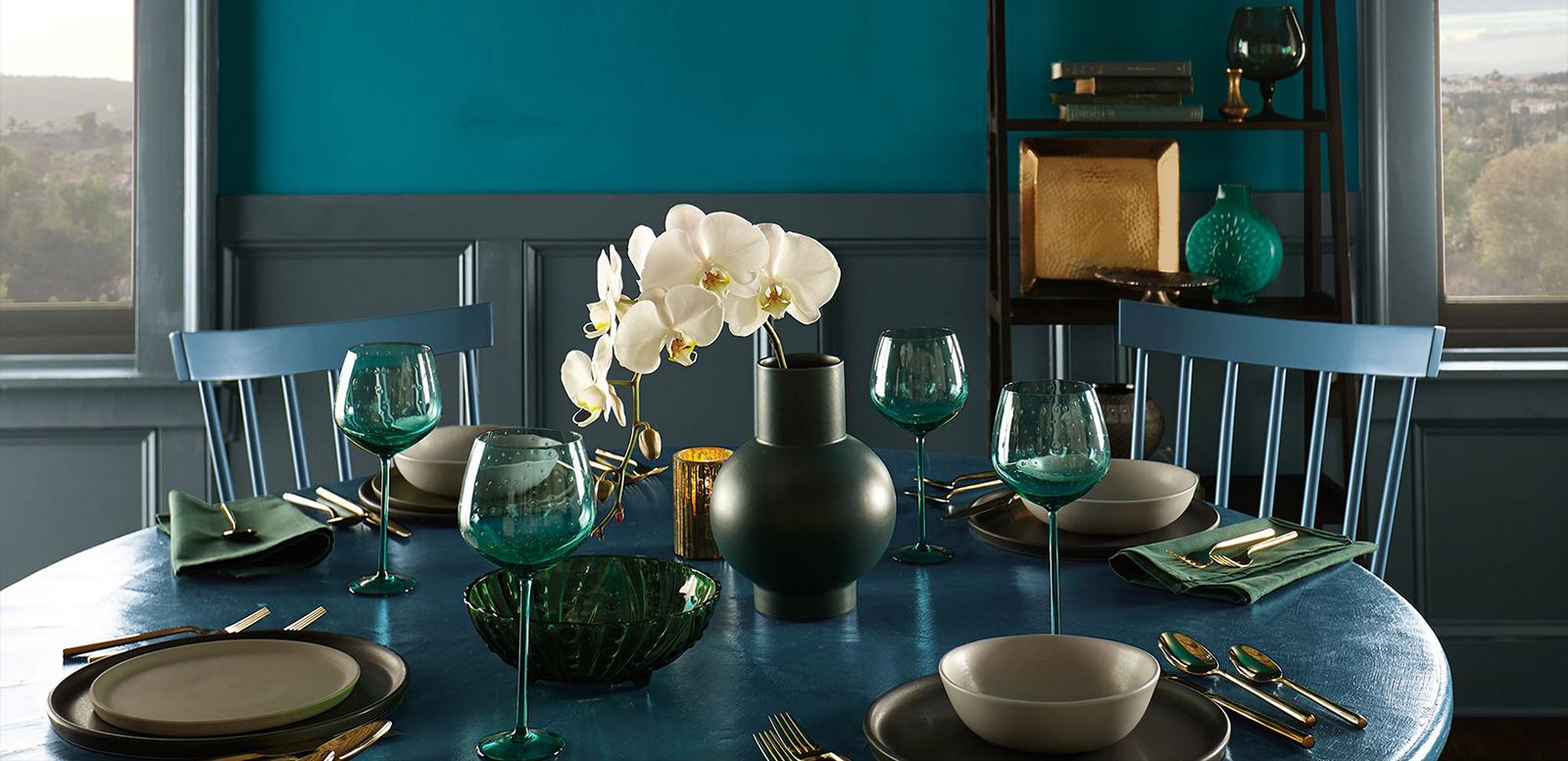 Layering Blues | How to Decorate with Blue