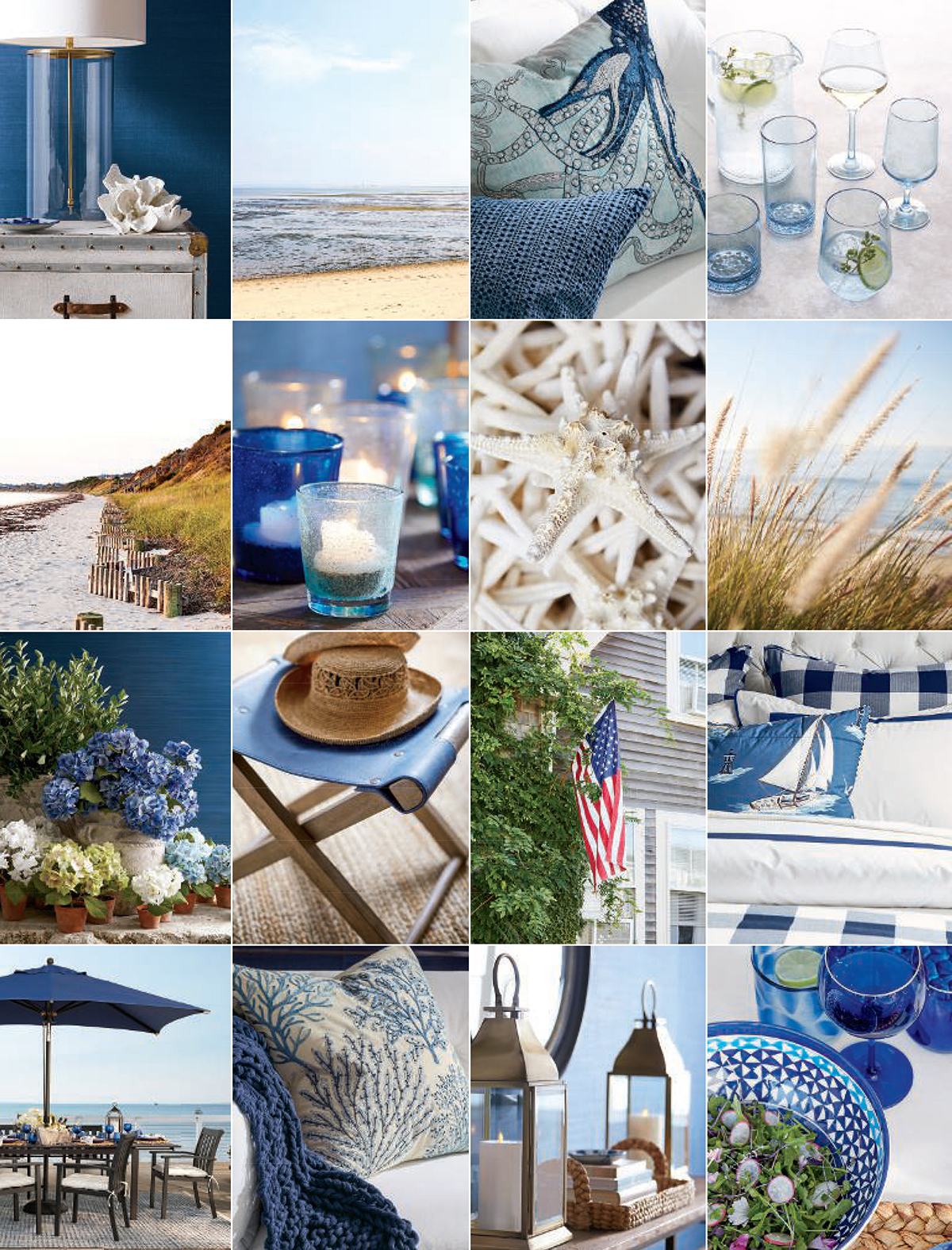 Coastal Decorating Ideas | Pottery Barn Summer 2019