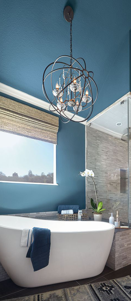 Behr Paint Color of the Year 2019 | How to Decorate with Blue