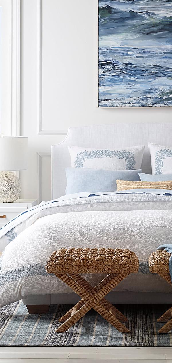 Modern Coastal Bedroom Ideas