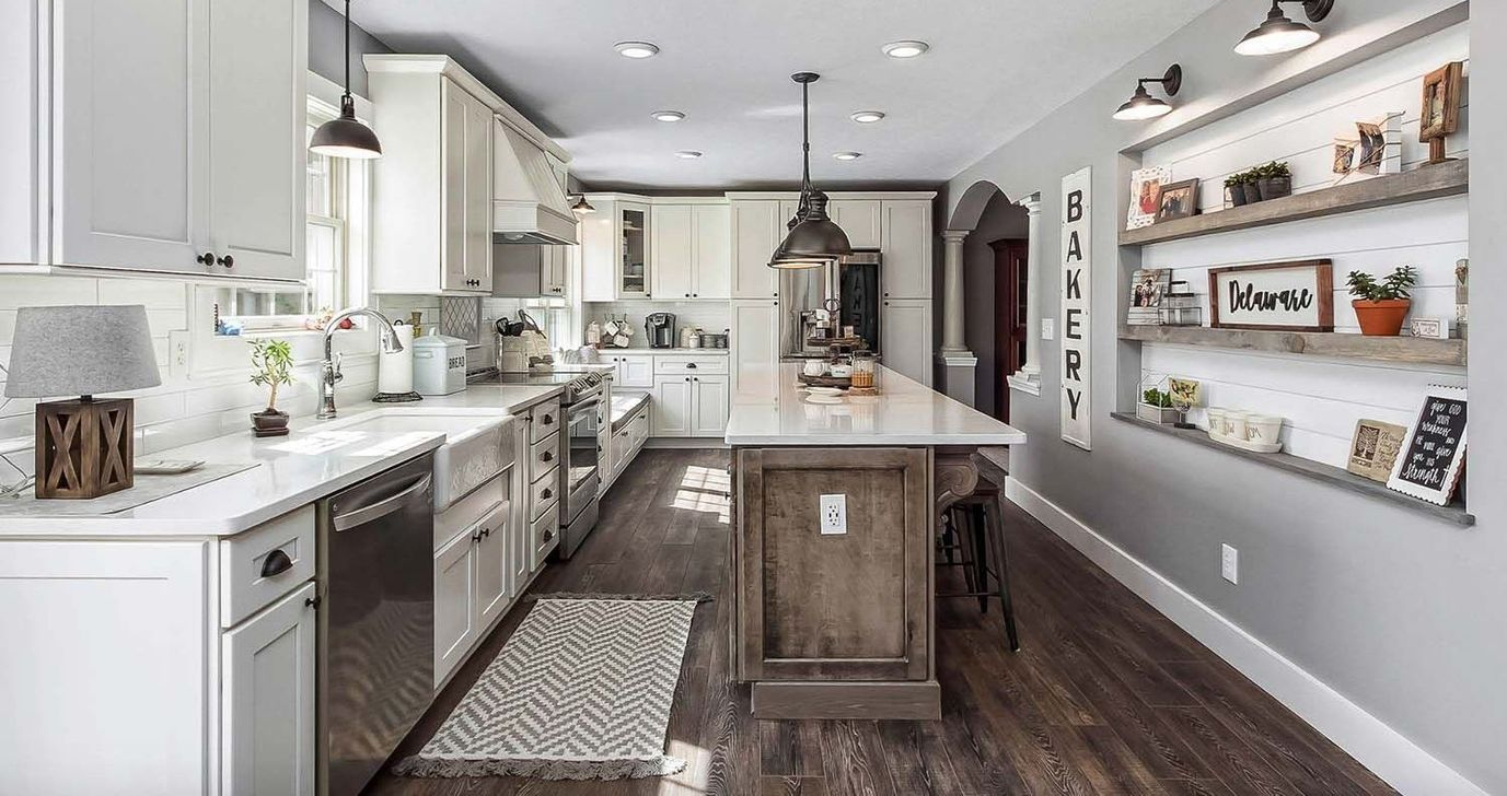J.H. Holderby Modern Farmhouse Kitchen