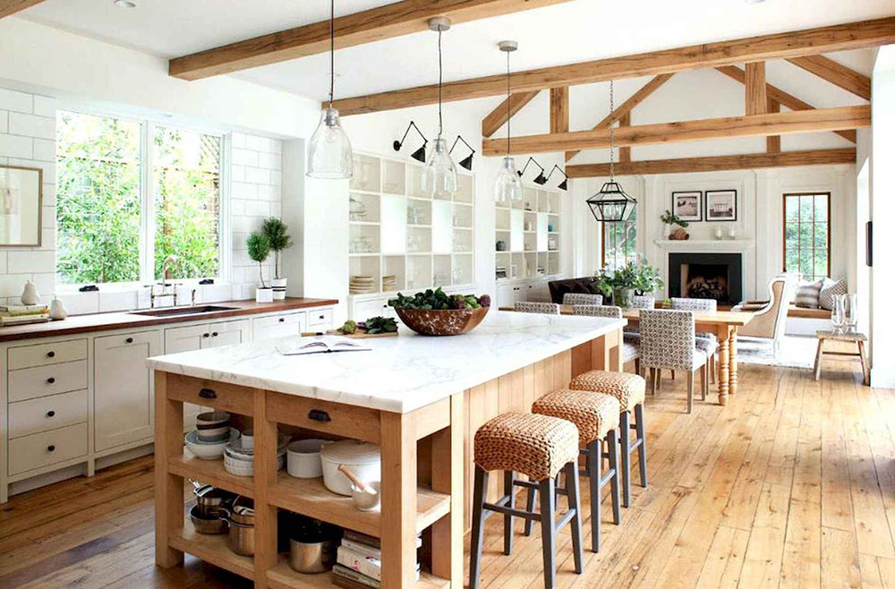 Modern Farmhouse Open Concept Design | Ken Linstead