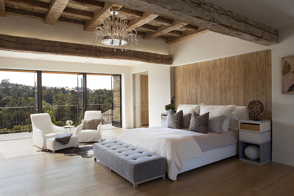 Modern Rustic Bedroom Designed by Ken Linsteadt