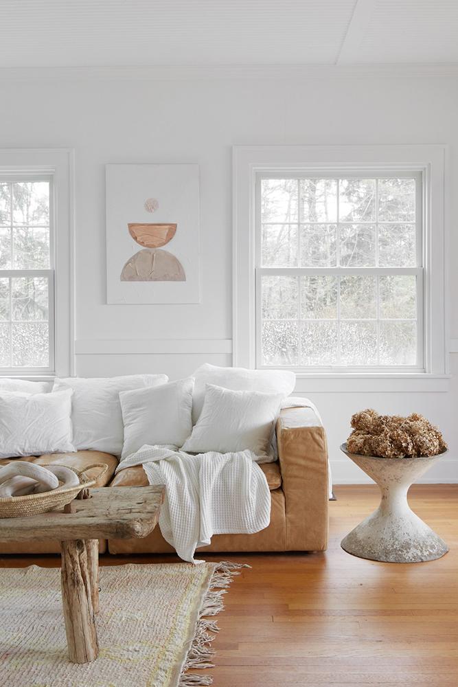 Modern Farmhouse Design   Living Room by Leanne Ford
