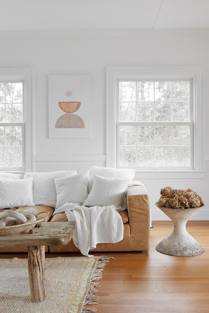 Modern Farmhouse Design | Living Room by Leanne Ford