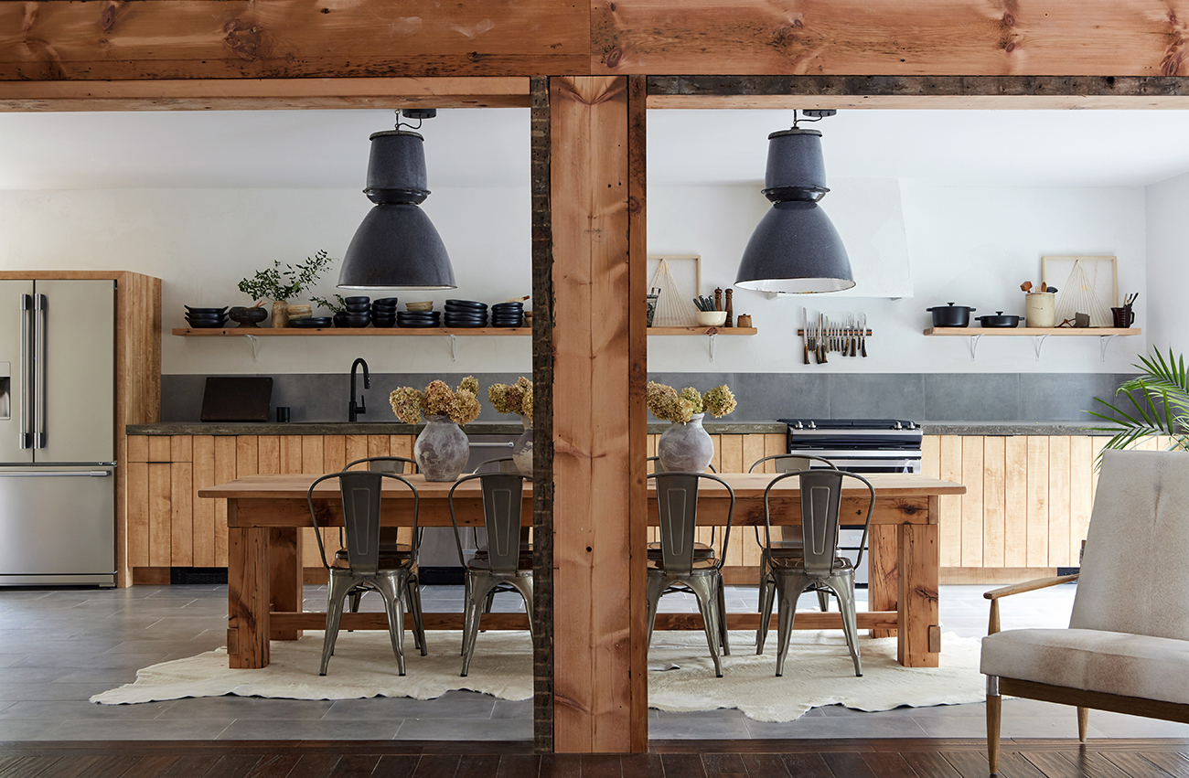 Modern Industrial Farmhouse Designed by Leanne Ford
