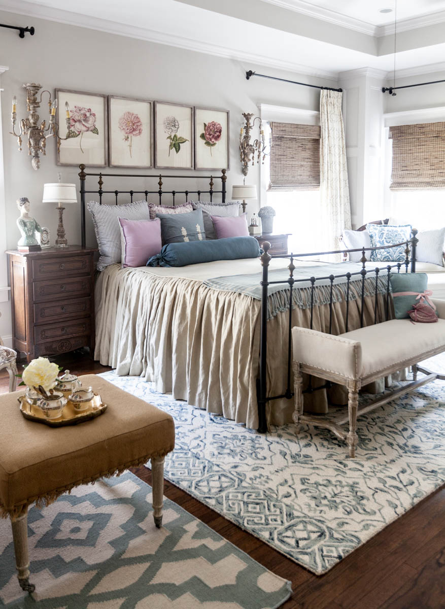 Cedar Hill French Country Bedroom