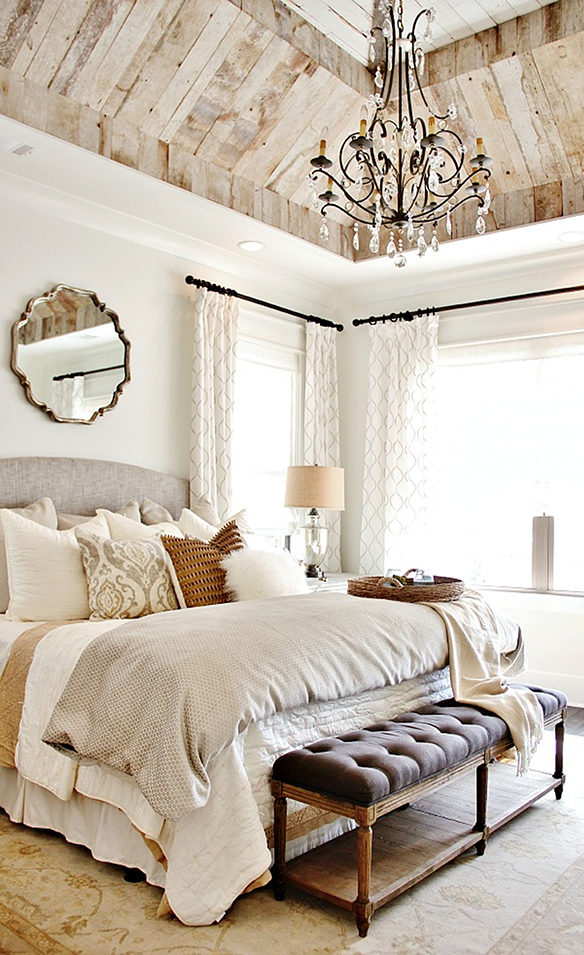 French Country Bedroom | Thistlewood Farms