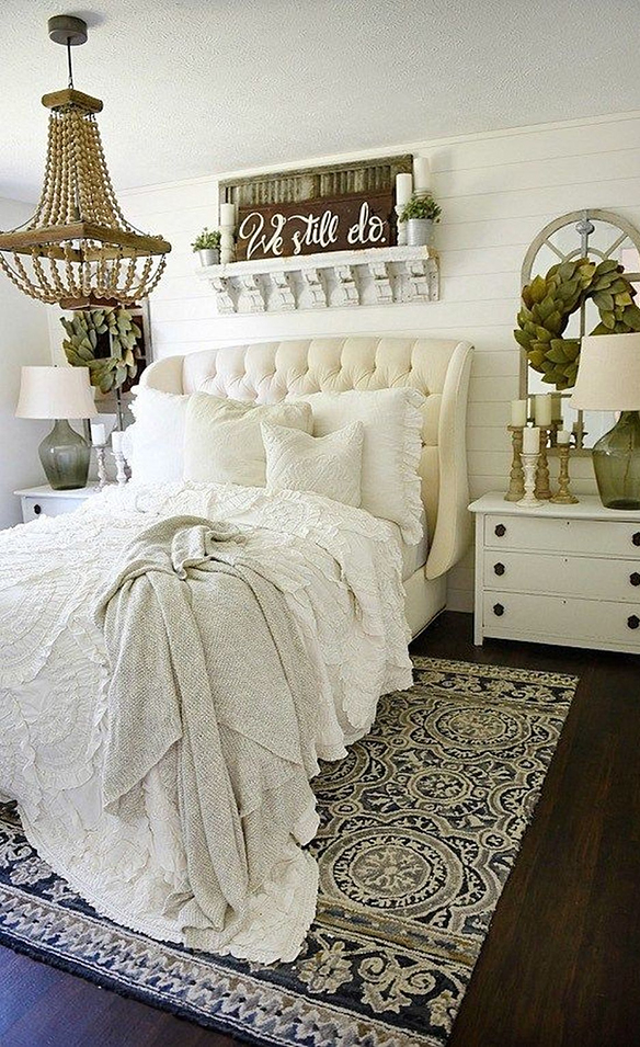 Rustic Farmhouse Bedroom | Liz Marie