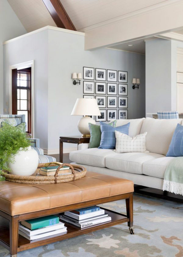 Bria Hammel   Coastal Living Room
