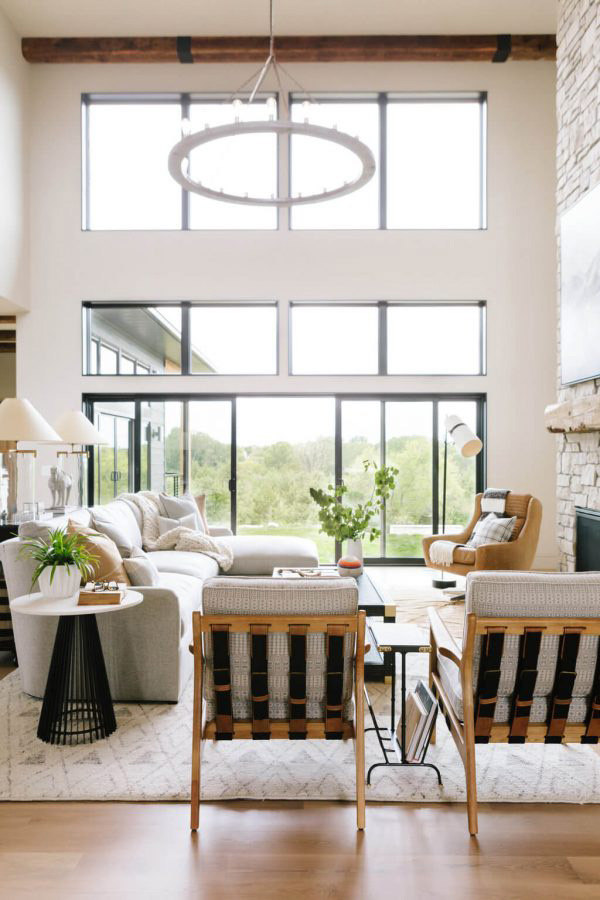 Bria Hammel | Beautiful Living Room Design Ideas