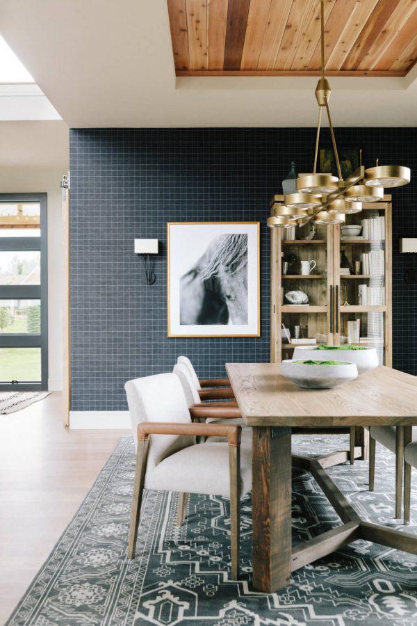 Bria Hammel | Modern Rustic Dining Room
