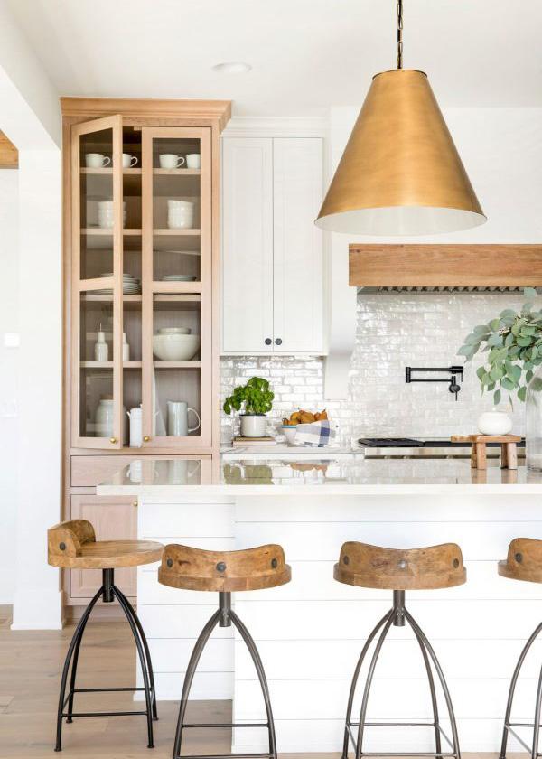 Bria Hammel | Modern Farmhouse Kitchen