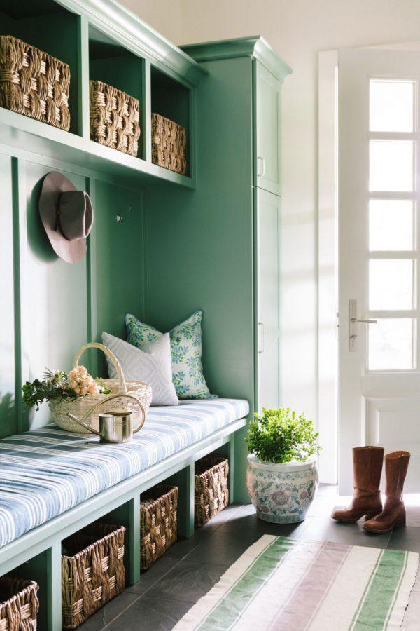 Bria Hammel | Beautiful Green Entranceway