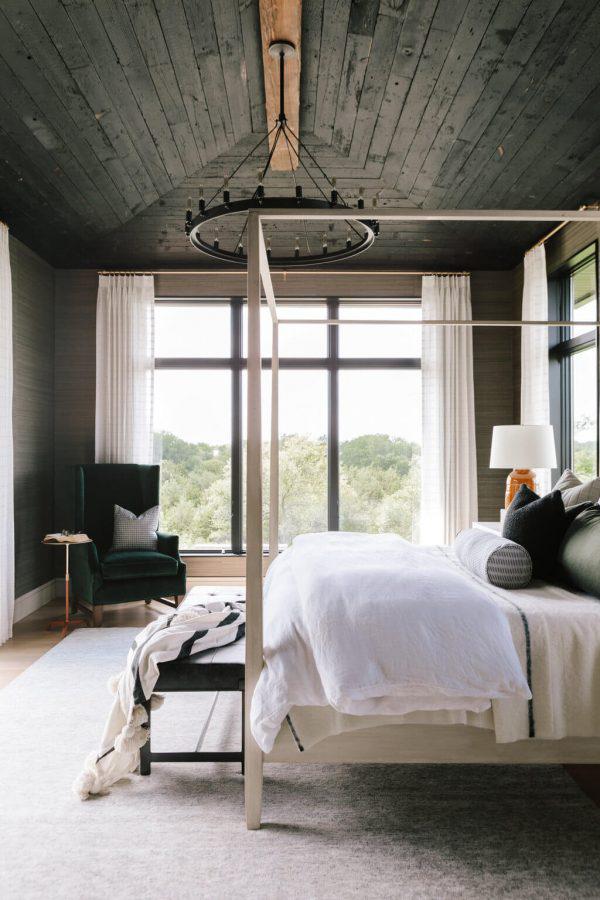 Bria Hammel | Modern Rustic Bedroom