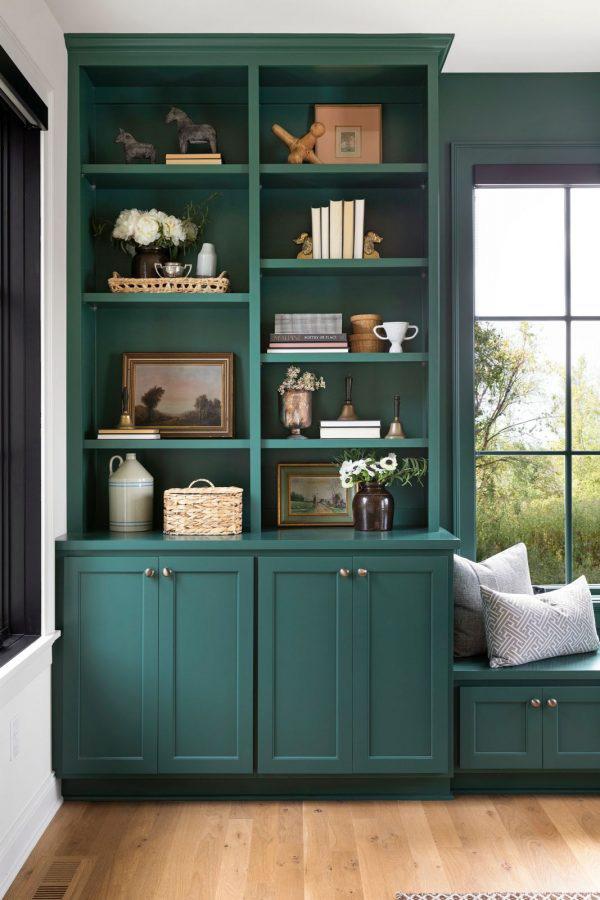 Bria Hammel | Using Green in Interior Design