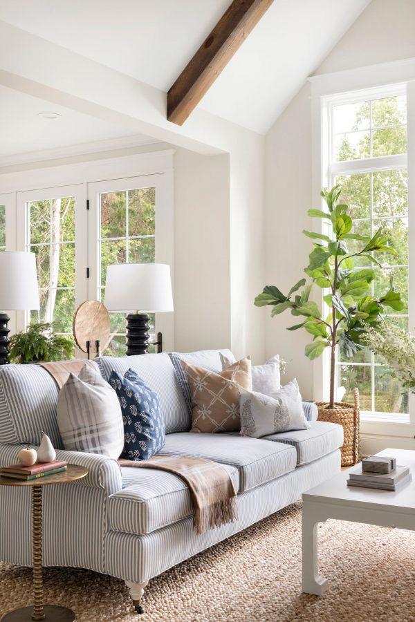 Bria Hammel | Organic Living Room Design