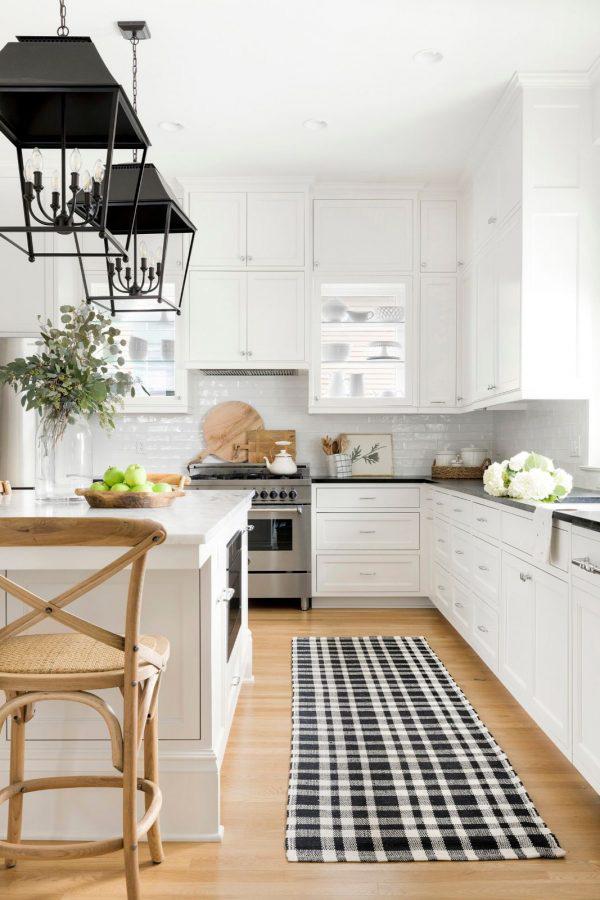 Bria Hammel | Black & White Kitchen Ideas