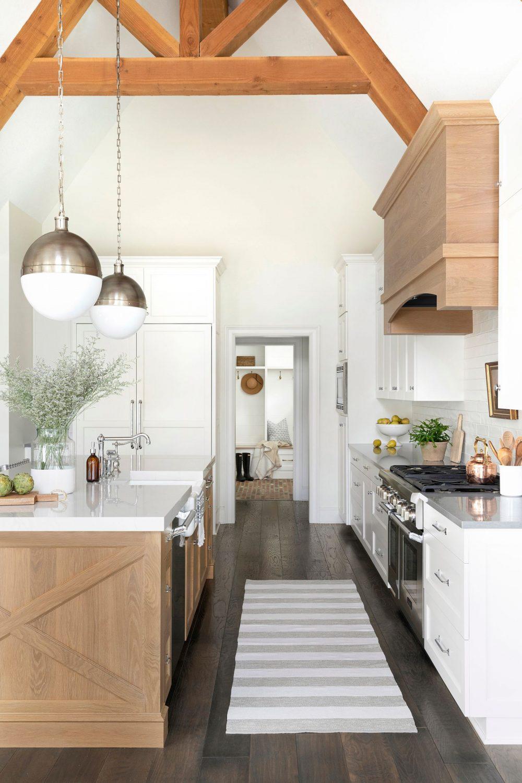 Bria Hammel Farmhouse Kitchen Design
