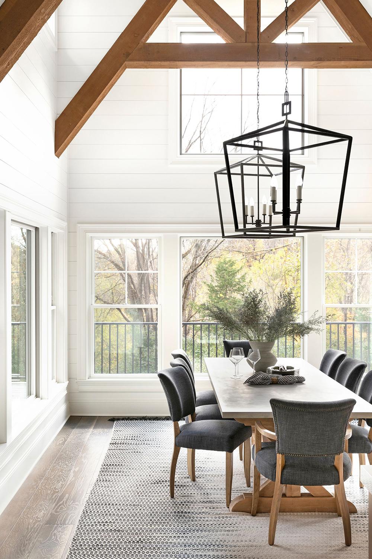 Bria Hammel Farmhouse Dining Room Design