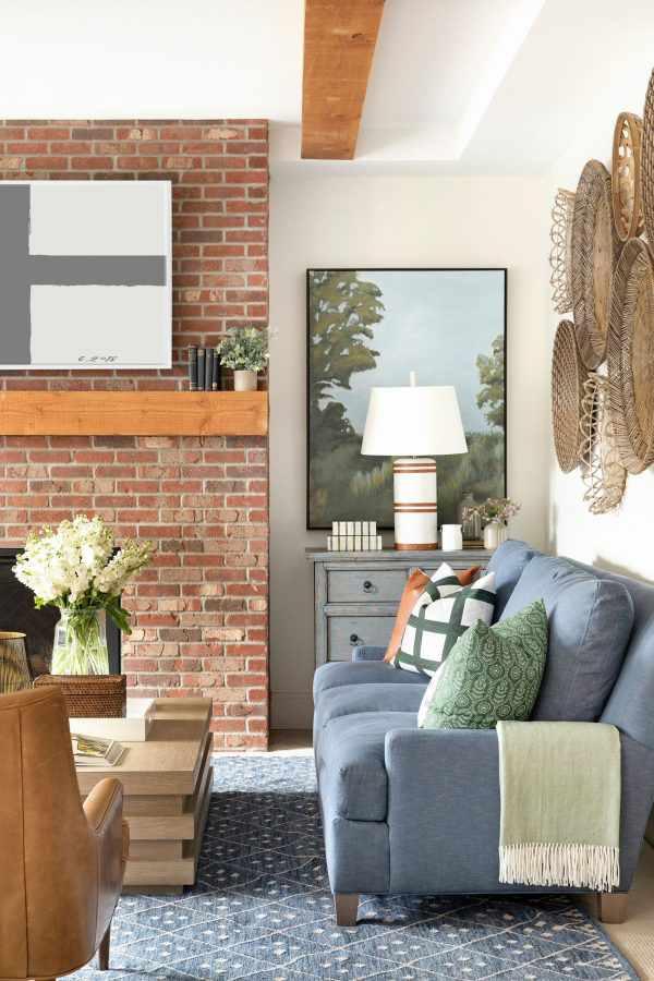 Bria Hammel Farmhouse Living Room