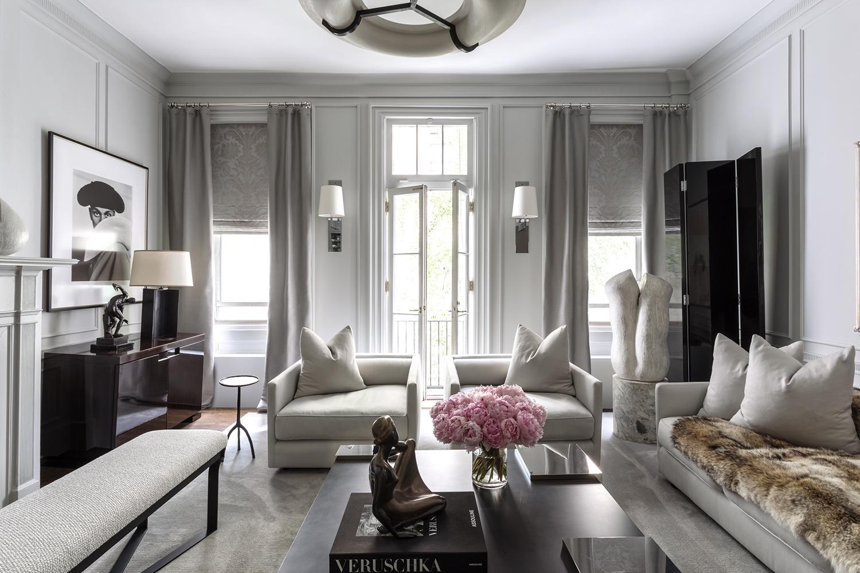 Living Room Designed by Korban Studio