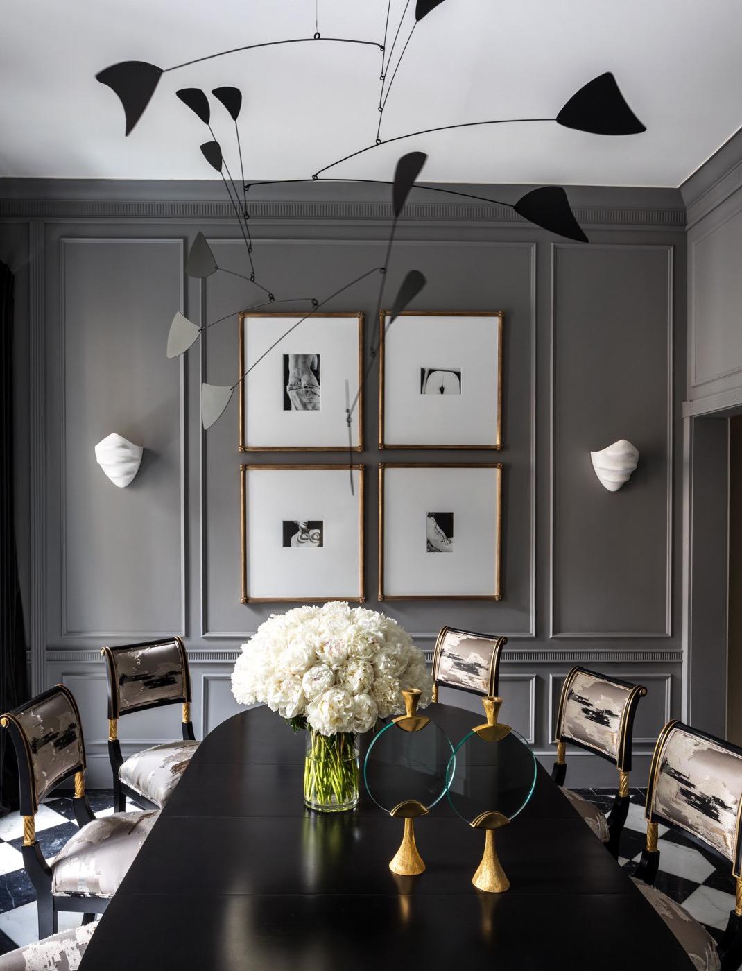 Dining Room Designed by Korban Studio