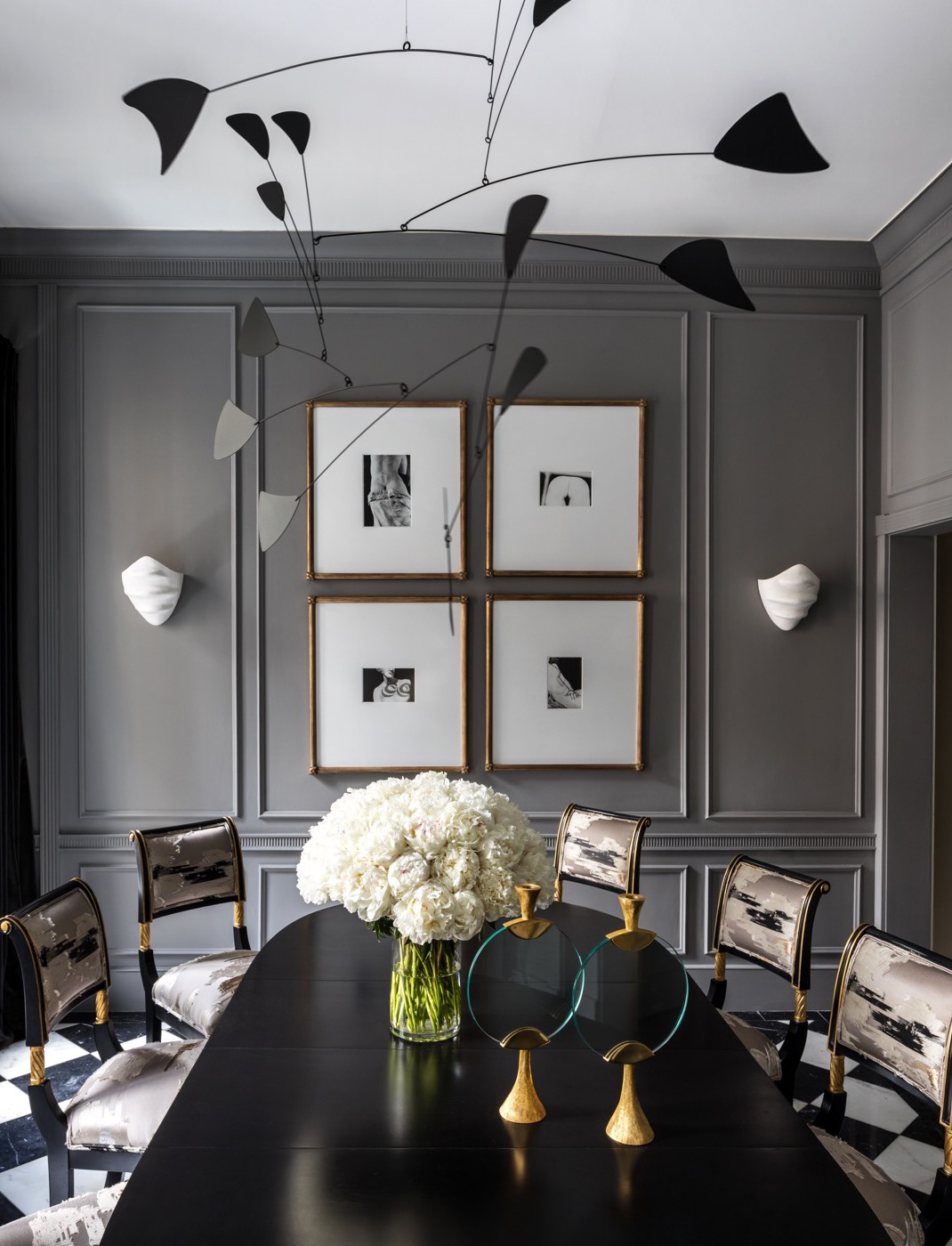 Dining Room Designed by Korban Studio