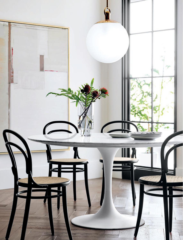 Black & White Modern Kitchen Design