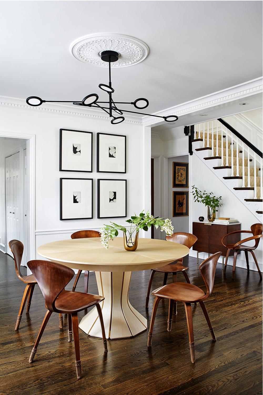 Breeze Giannnasio   Eclectic Dining Room