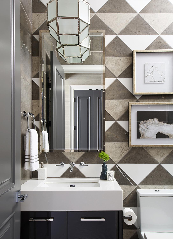 Glamorous Bathroom Ideas   Luxe on Broadway   Atmosphere Interior Design