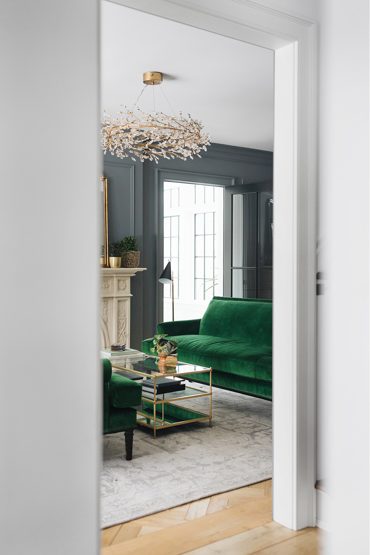 Jean Stoffer Interiors   Living Room Design