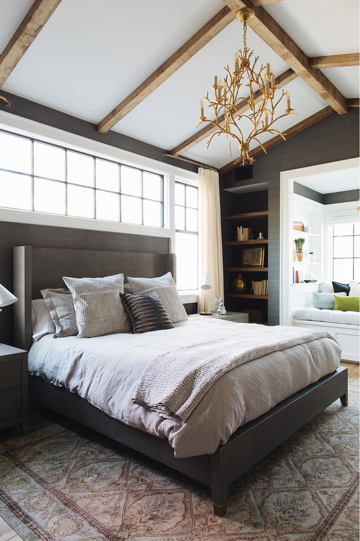 Modern Rustic Bedroom by Jean Stoffer