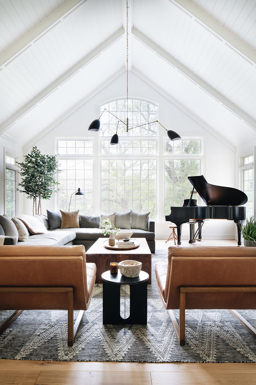 Living Room Designed by Jean Stoffer