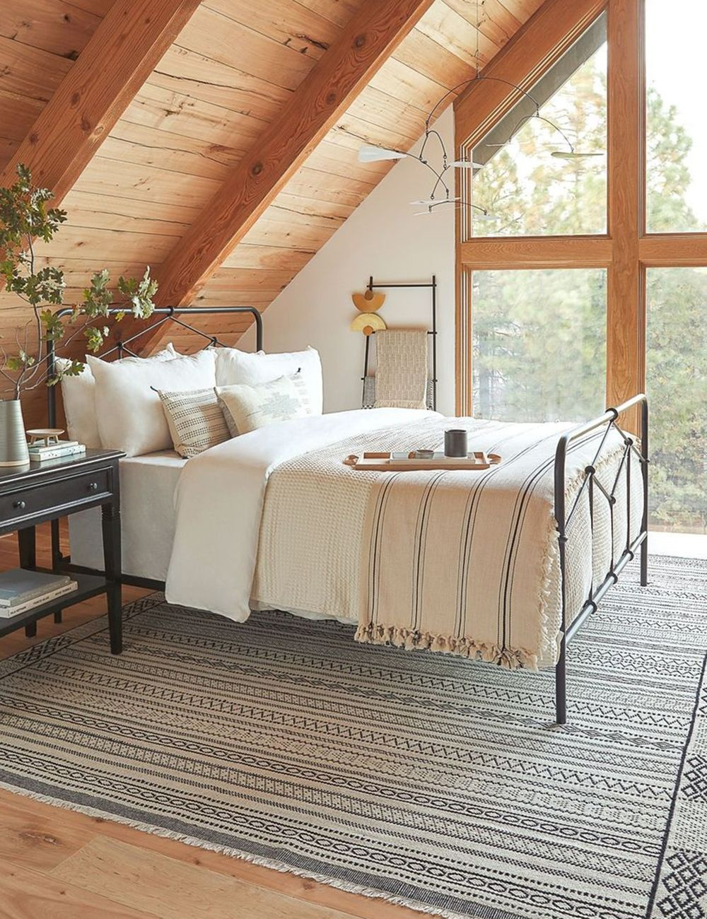 Cozy Scandinavian Bedroom Design Ideas