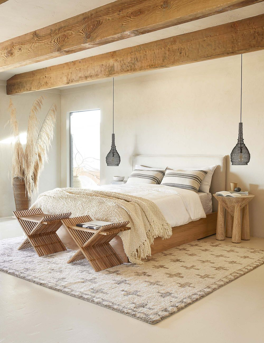 Raw Neutral Bedroom