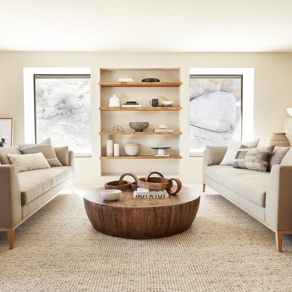 Raw Neutral Living Room