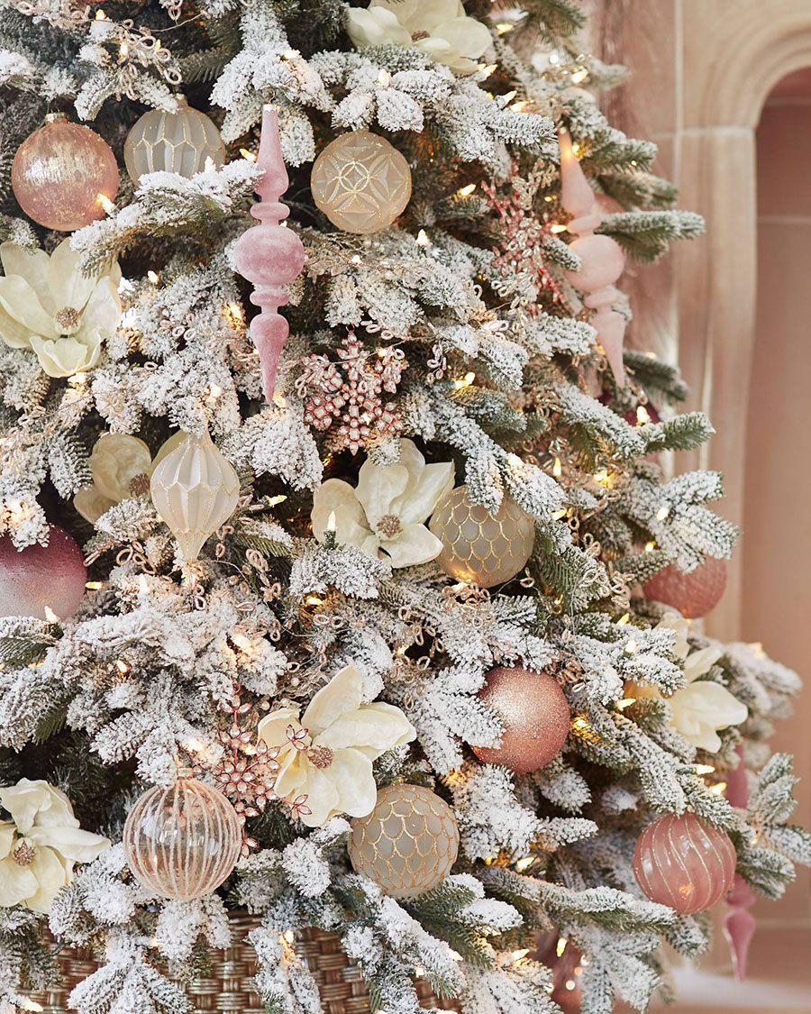 Winter Wishes Ornaments | Blush Christmas Tree
