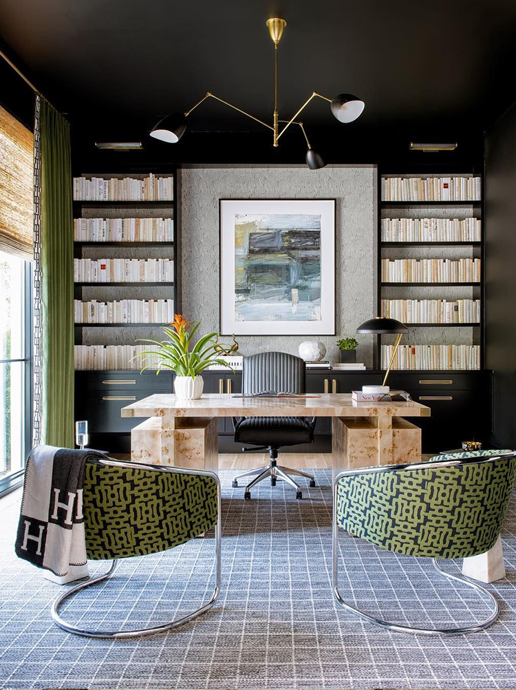 Adding Color to Your Home Office