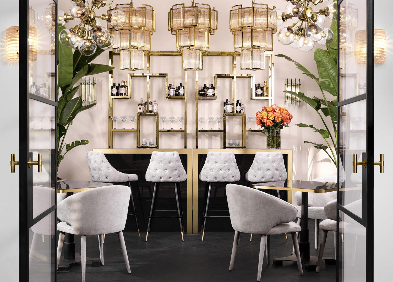 Glamorous Home Bar