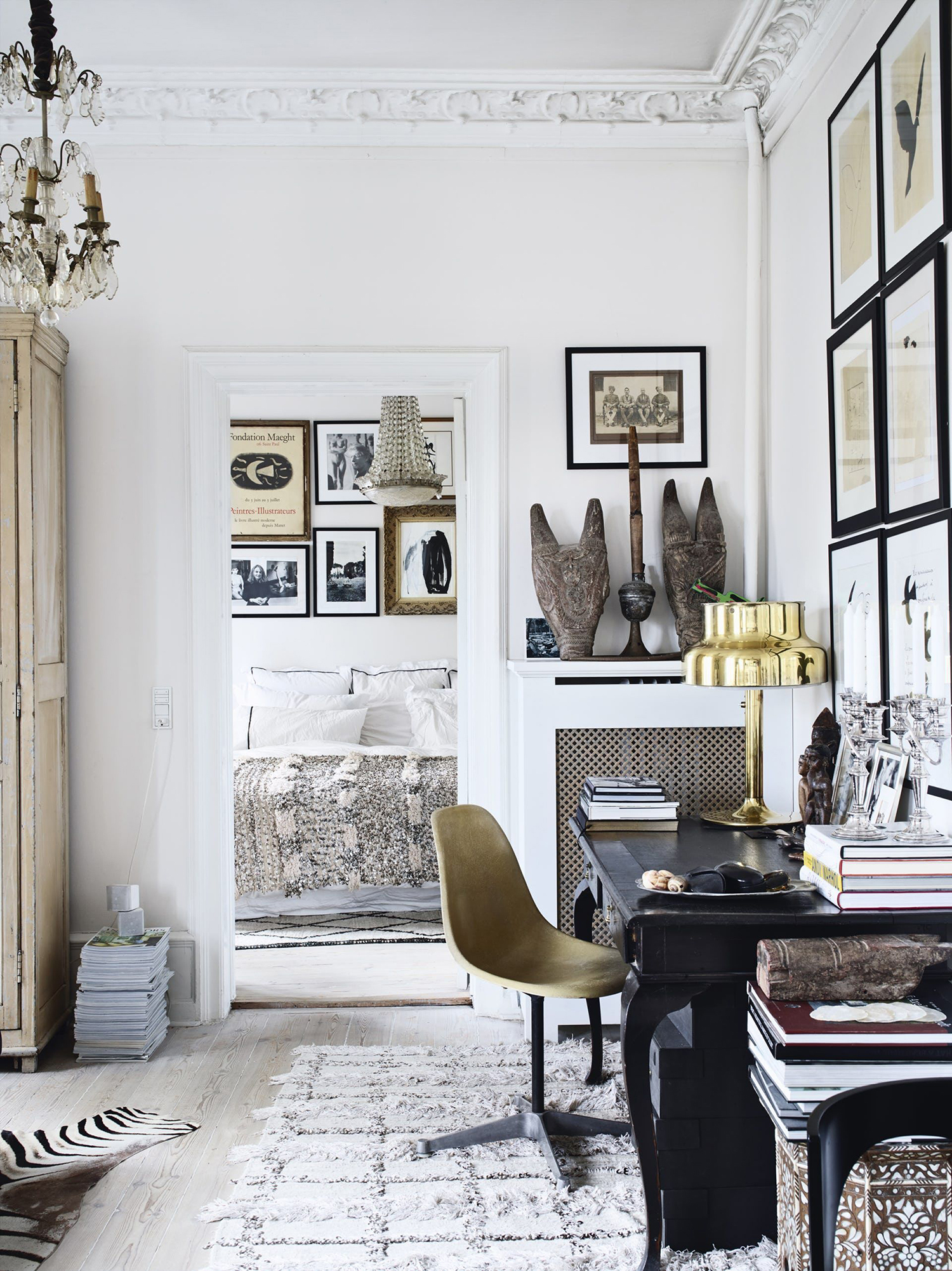 Home Office Gallery Wall