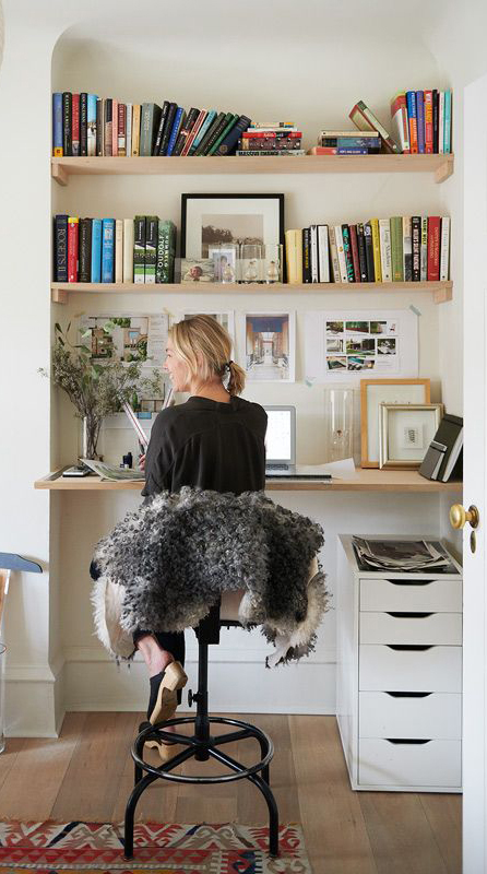 Home Office in a Nook