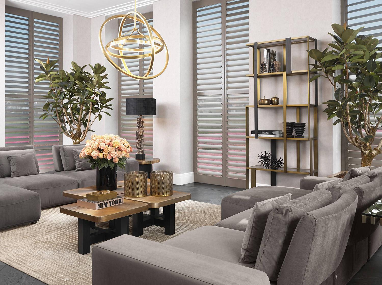Modern Luxe Living Room