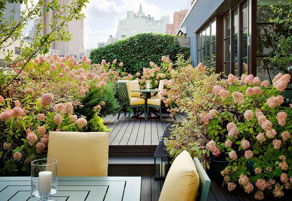 Patio Design Ideas   Rooftop Outdoor Garden Design