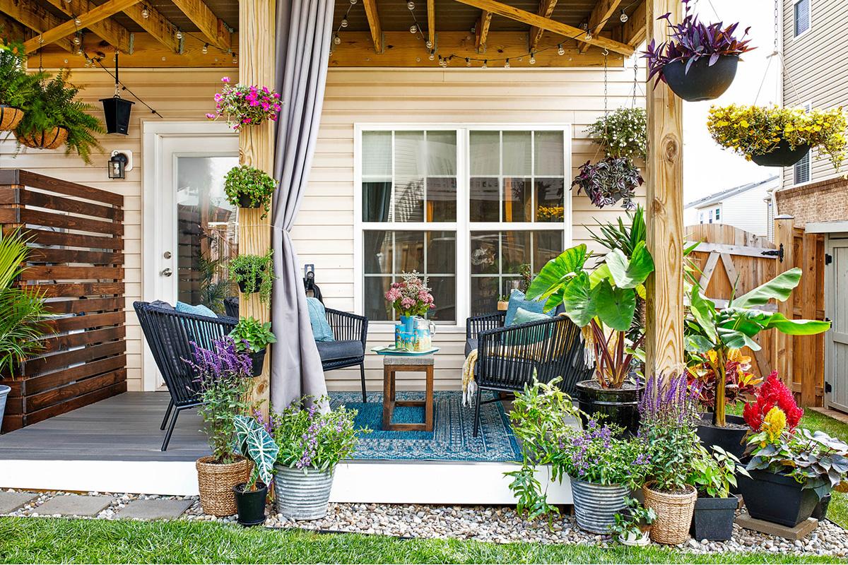Small Backyard Decorating Ideas   Patio Design Ideas