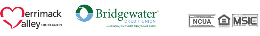 Merrimack Valley Credit Union and Bridgewater Credit Union