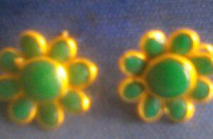 Green Pachi Studs