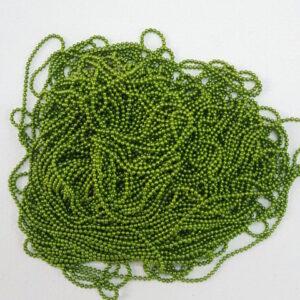 parrot green ball chain