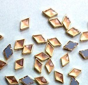 kundans diamond gold colour