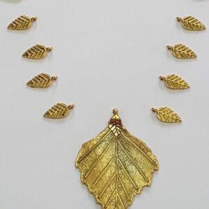 antique leaf Set